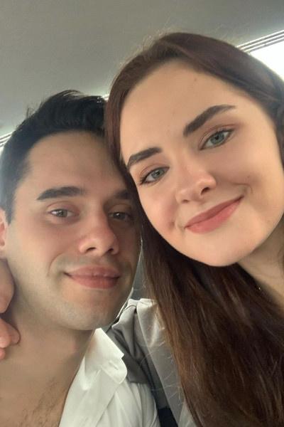 Агния и ее супруг Владислав счастливы быть родителями