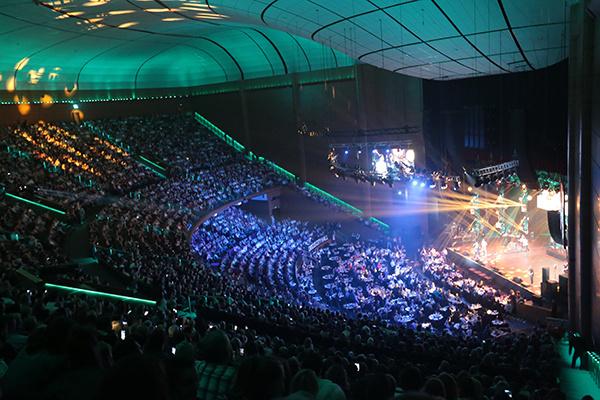 Концерт посетило 7000 человек