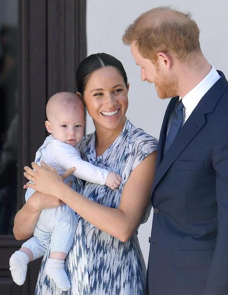 Меган Маркл и принц Гарри хотят, чтобы сын рос в спокойных условиях