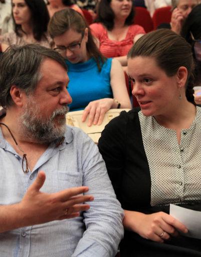 Виталий Манский и Вера Полозкова