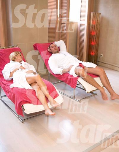 Расслабляться Ксения и Михаил ходили в SPA-центр отеля