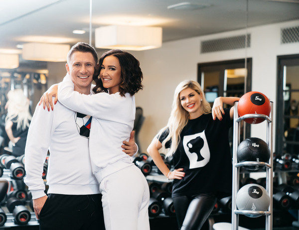 Тимур Батрутдинов, Ольга Бузова и дизайнер коллекции Белла Потемкина