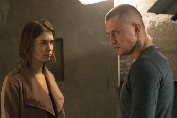 Агата Муцениеце и Павел Прилучный вместе снимаются в сериале