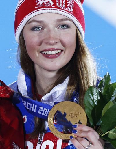 Алена Заварзина заняла третье место в параллельном гигантском слаломе