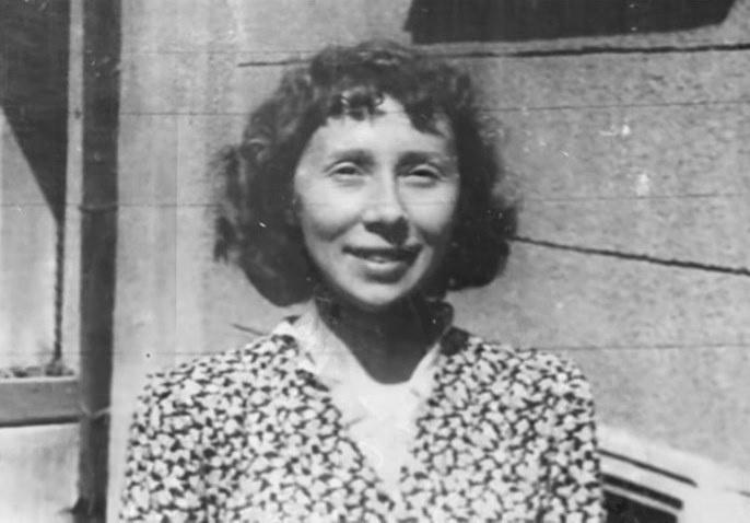 Тамара Кузина в молодости