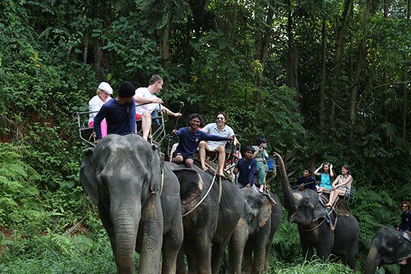 В Таиланде  я впервые  опробовал такой  надежный вид  транспорта