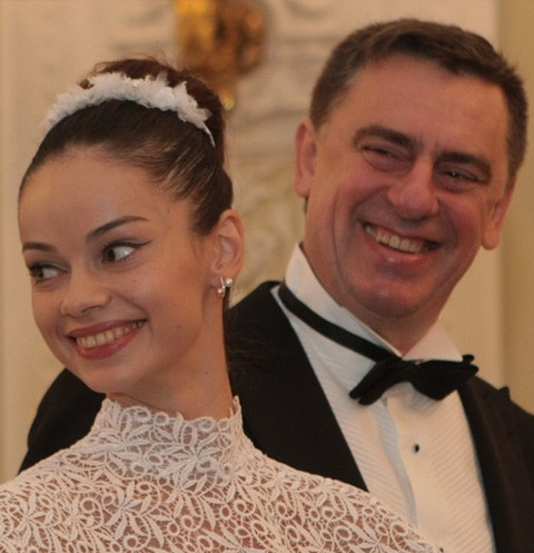 Анастасия Колегова и Сергей Тарасов