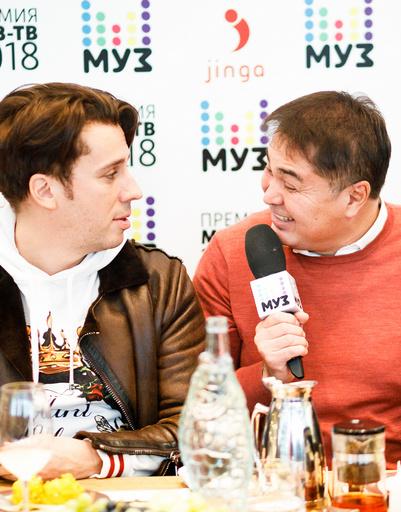 Максим Галкин и Арман Давлетяров