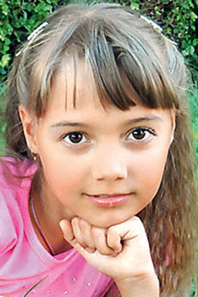 11-летняя Наташа Долматова