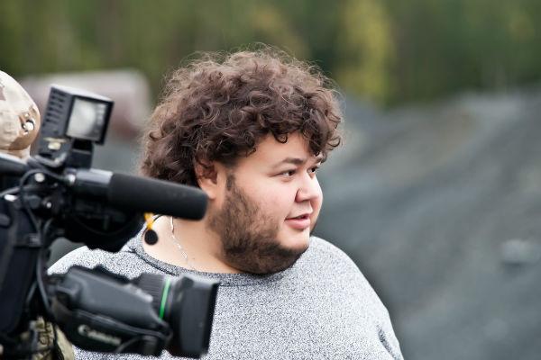 Евгений довольно долго работал на телевидении