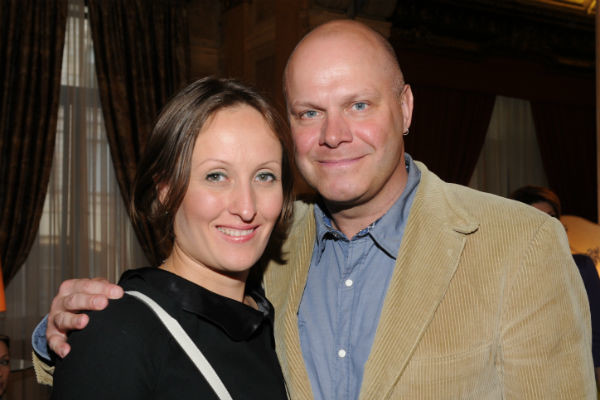 Алексей Кортнев с женой