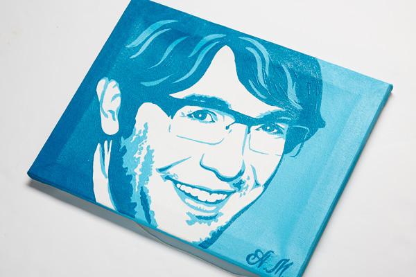 Айгуль Буканбаева, Республика Башкортостан, нарисовала мой портрет