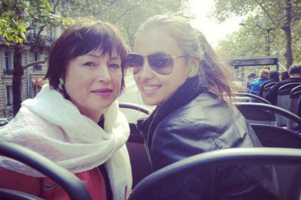 Ирина Шейк с мамой Ольгой