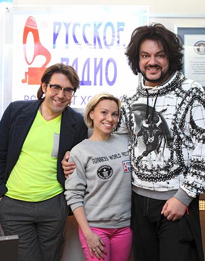 Андрей Малахов, Алиса Селезнева и Филипп Киркоров