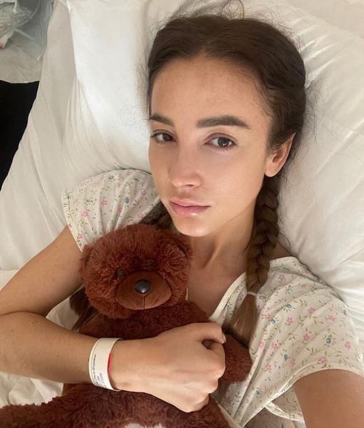 Ольга восстанавливается после операции