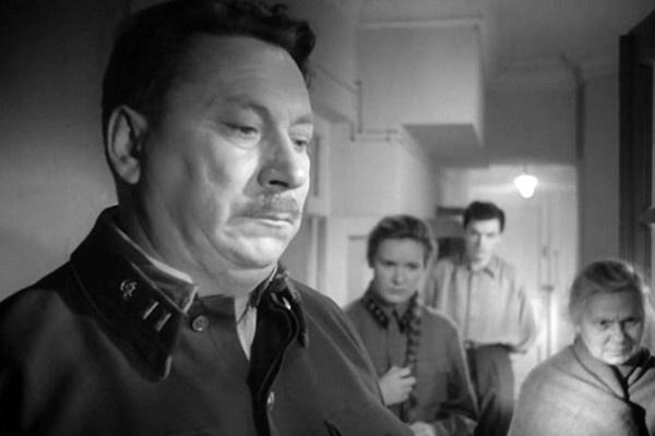 Василий Меркурьев сыграл роль отца Бориса в картине «Летят журавли»