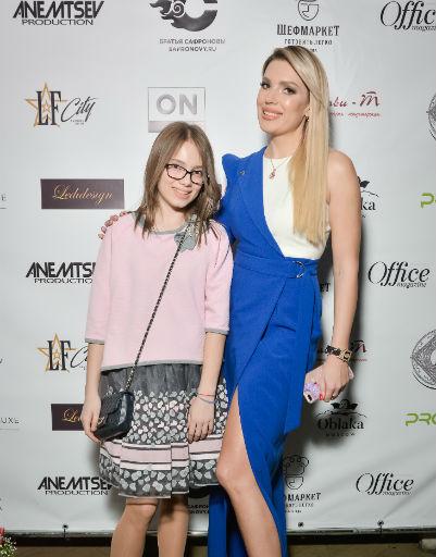 Катя Гусева с дочерью Ариной
