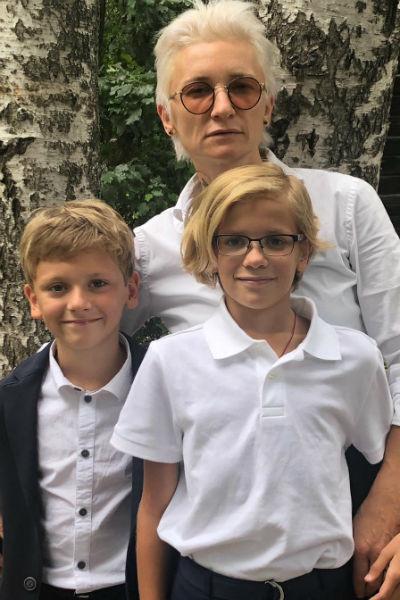 Диана Арбенина и ее дети