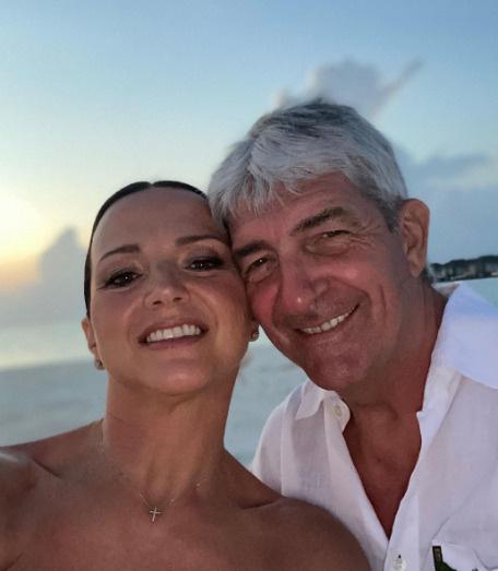 Паоло Росси с женой Федерикой