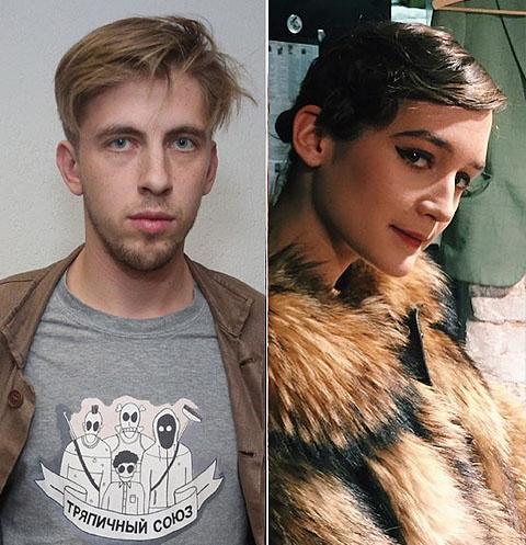 Александр Паль и Лиза Янковская