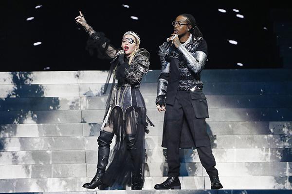 Мадонна на «Евровидении 2019»
