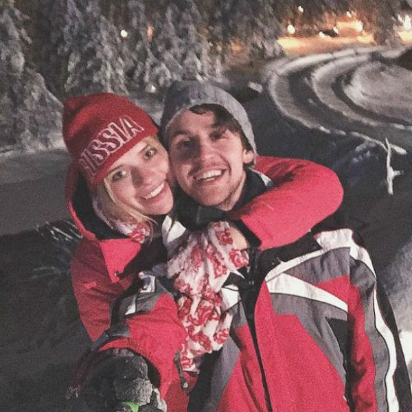 Анна Тарасова и Алексей Мышинский