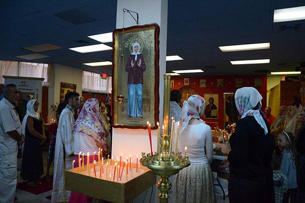 В русском храме в  Майами прихожане   ежедневно оставляют   десятки записок за   здравие Фриске
