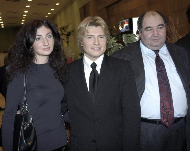 Борис Шпигель с дочерью и зятем