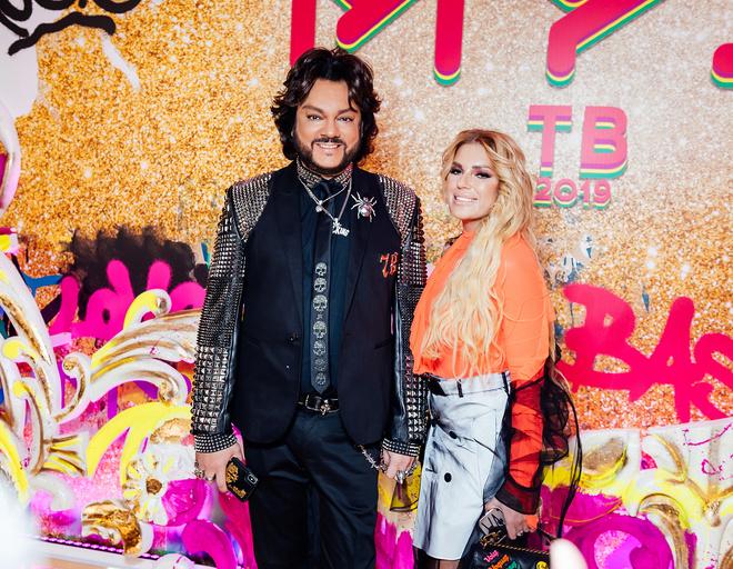 Филипп Киркорова и Катя Гусева