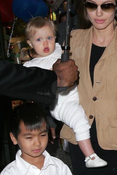 В раннем детстве Шайло была очень похожа на маму
