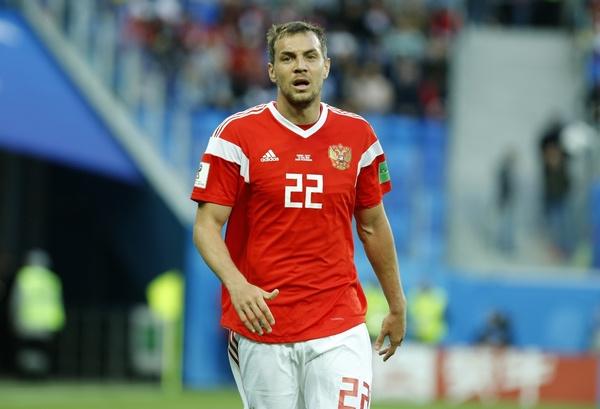 Артем Дзюба признан лучшим игроком сборной России
