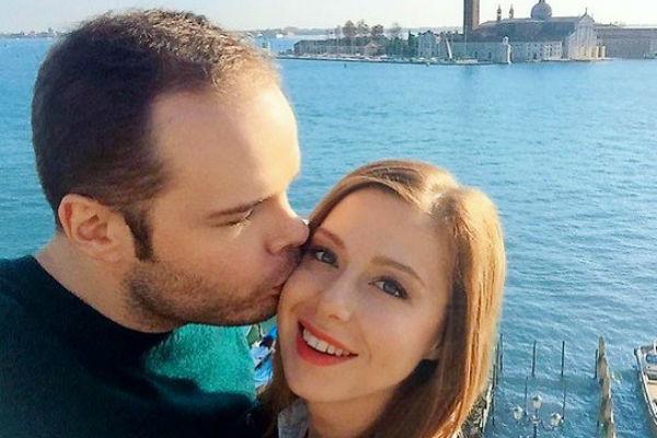 Юлия Савичева с мужем