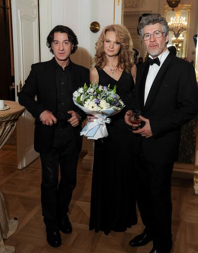 Эвклид Кюрдзидис (жюри), Марианна Пенькова (FiFi), актер Валерий Яременко