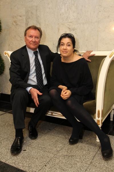 Сергей Шакуров с супругой Екатериной