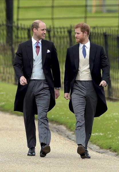 А вот принцы Уильям и Гарри никак не могут наладить контакт