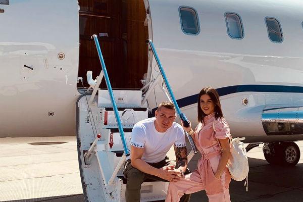 Ксения и Курбан часто путешествуют вместе