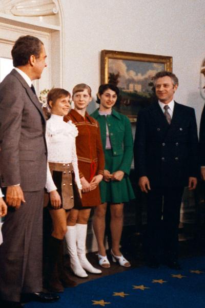 Встреча спортсменки с Ричардом Никсоном не прошла без казусов