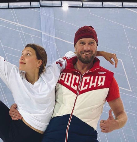 Регина Тодоренко и Роман Костомаров