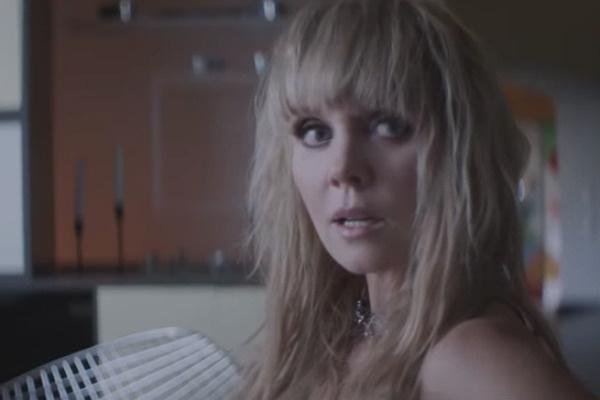 Валерия сменила несколько образов во время съемок клипа