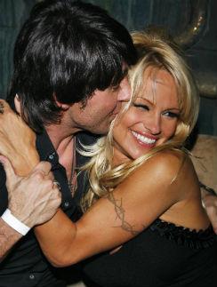 Мы с Памелой в 2007-м
