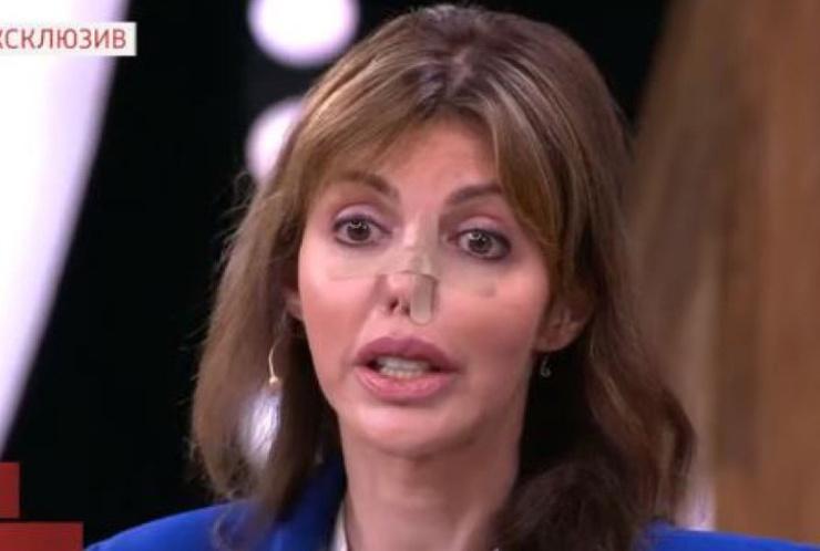 Алиса не побоялась показать себя публике на одном из ток-шоу на федеральном канале.