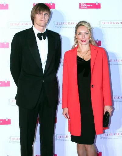 Андрей Кириленко с супругой