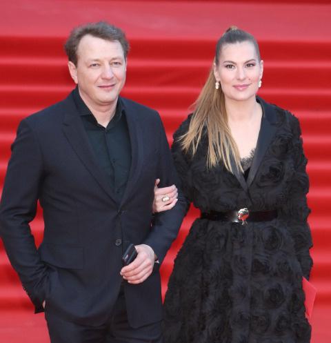 Марат Башаров с женой