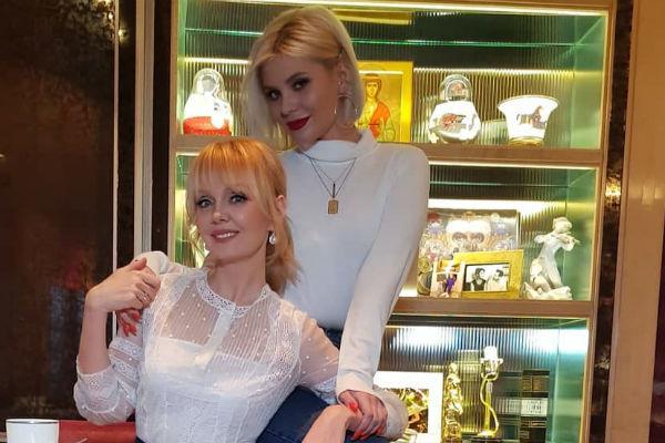 Валерия и ее дочь Анна
