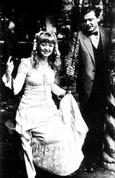 Александр Королев с Машей