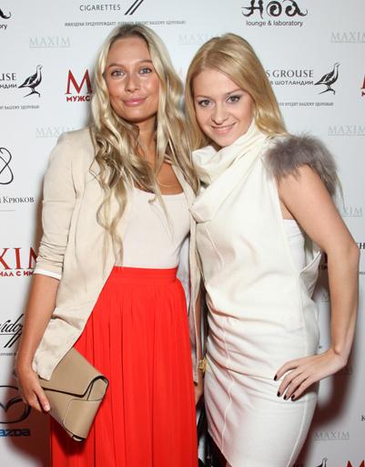 Актриса Наталья Рудова с подругой
