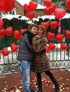 Дмитрий Железняк и Елена Бушина