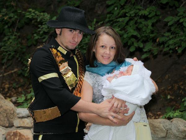 Оксана говорит, что малыш Кристиан – копия папы
