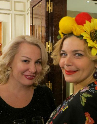 Ирина Пегова и Юлия Пузырева