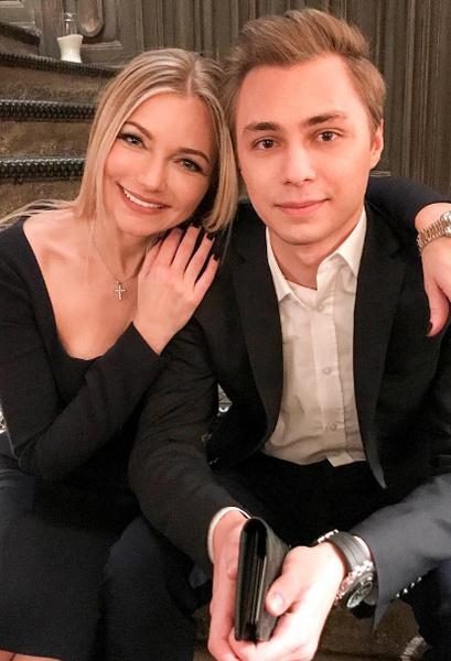 Инна с сыном Дмитрием